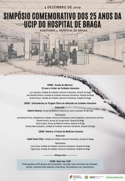 hospital-de-braga-25 anos da Unidade de Cuidados Intensivos Polivalente