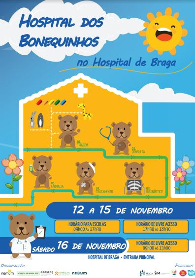 hospital-de-braga-Hospital dos Bonequinhos 2019 | 12 a 16 de novembro