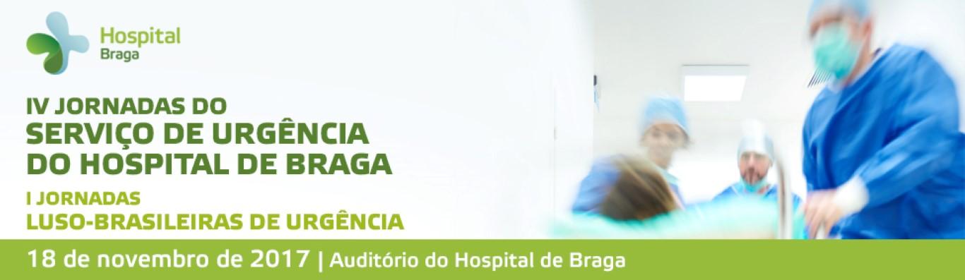 hospital-de-braga-IV Jornadas do Serviço de Urgência do Hospital de Braga – I Jornadas Luso-Brasileiras de Urgência