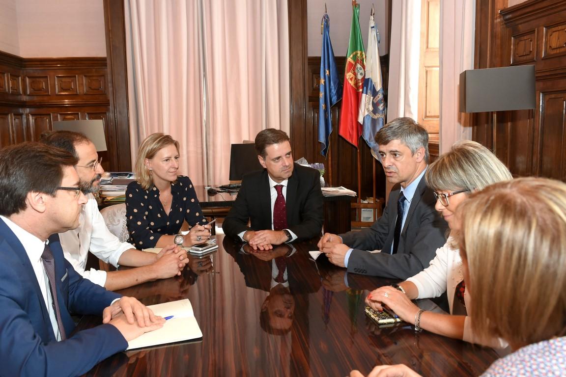 hospital-de-braga-Administração do Hospital reuniu com Presidente da Câmara