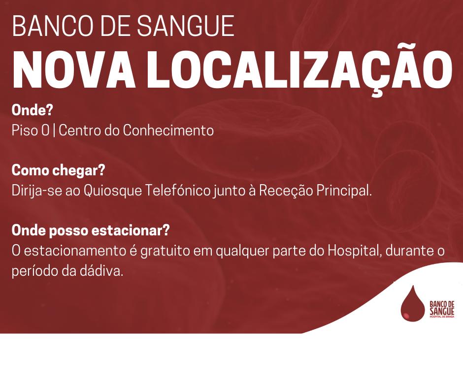 hospital-de-braga-Alteração da localização do Banco de Sangue