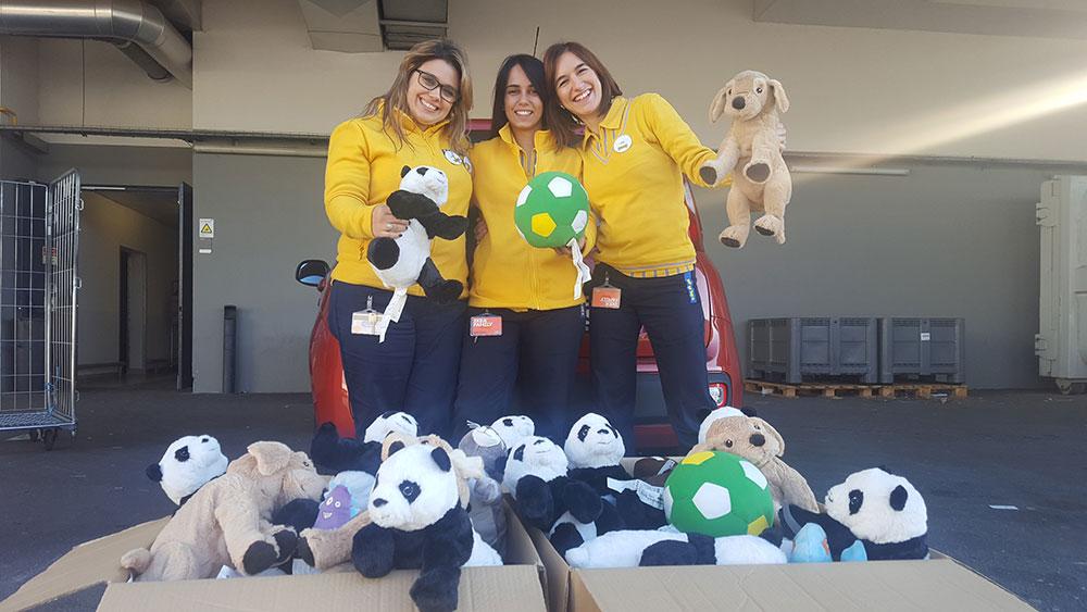 hospital-de-braga-Bonecos alegraram Natal no Hospital de Braga