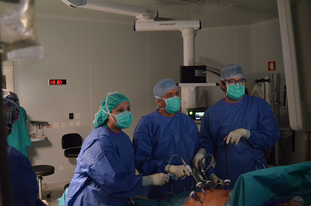 hospital-de-braga-Cirurgiões espanhóis realizaram remoção total de estômago por laparoscopia no Hospital de Braga