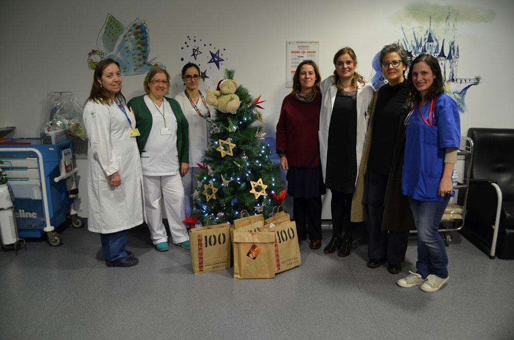 hospital-de-braga-Crianças incentivadas a ler no Natal