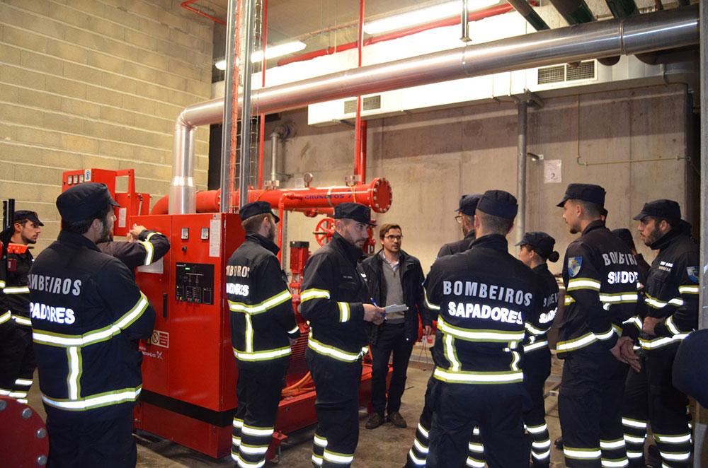 hospital-de-braga-Futuros bombeiros conhecem Hospital de Braga