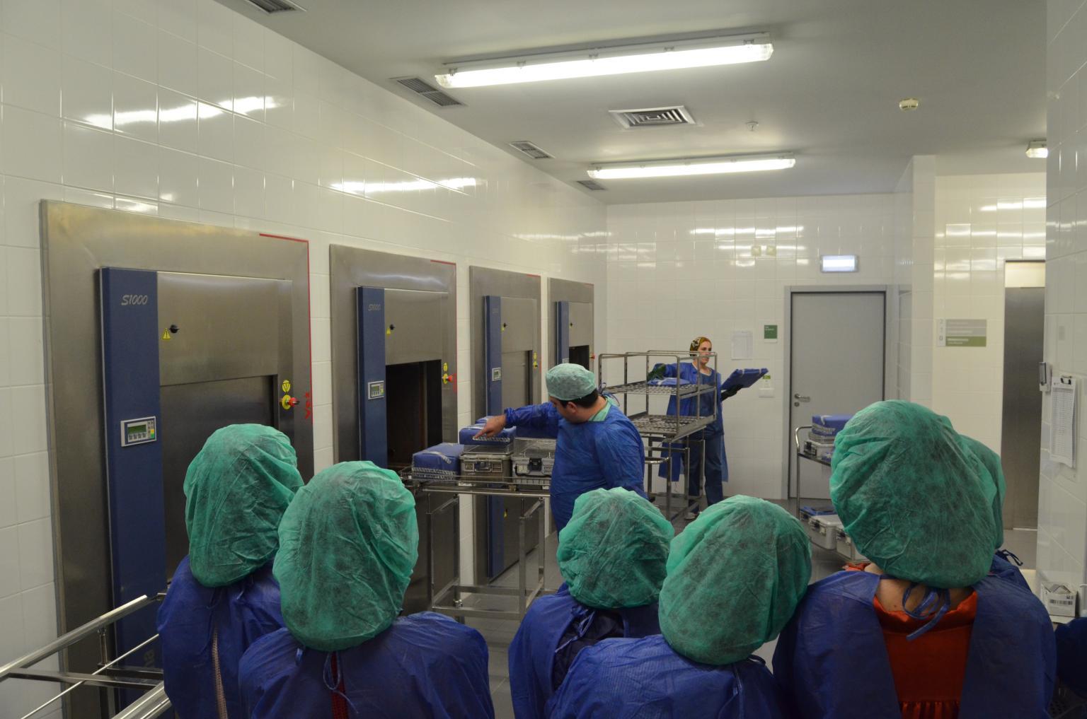 hospital-de-braga-Hospital de Braga visitado por Escolas