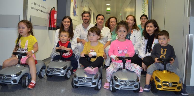 hospital-de-braga-Mercedes ofereceu carros