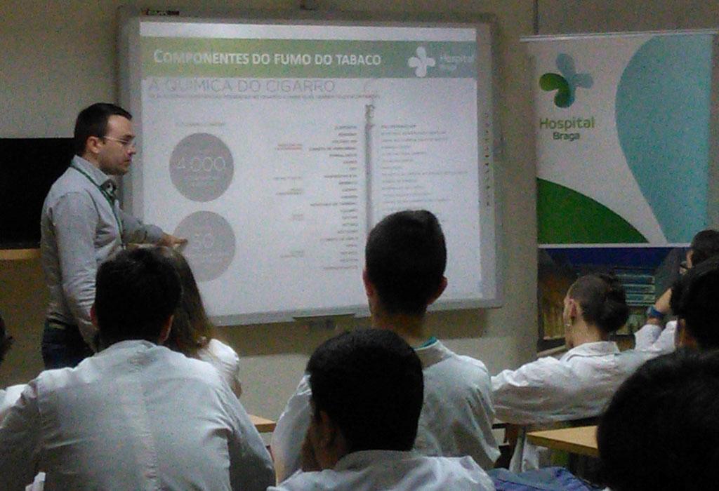 hospital-de-braga-Promovemos Palestra sobre Prevenção Tabágica